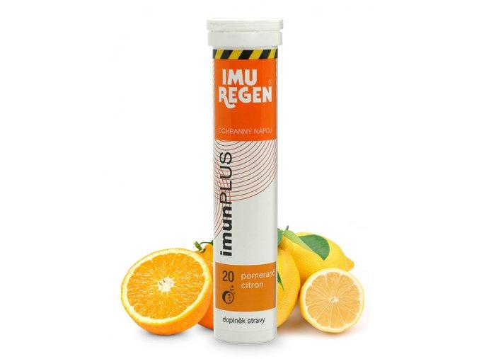 šumák pomeranč citron